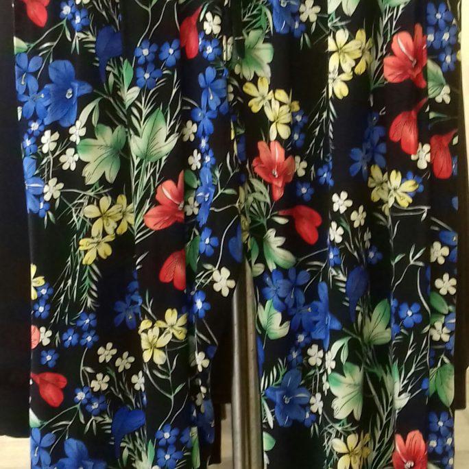 Beautiful multicoloured light summer pants