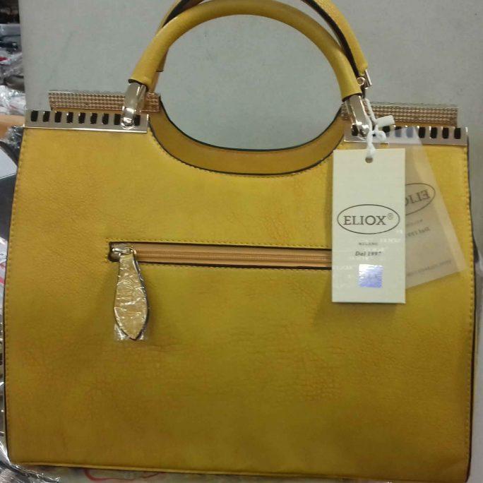 Eliox Dark Lemon Tote Bag