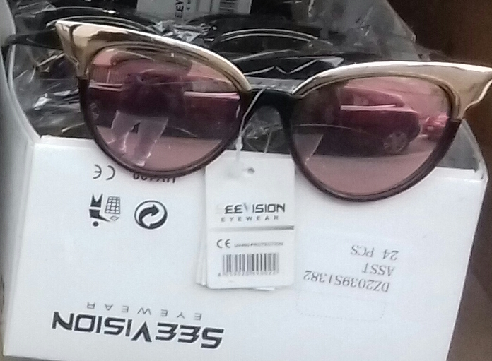 Light Pink Sunglasses Old Teacher Frame