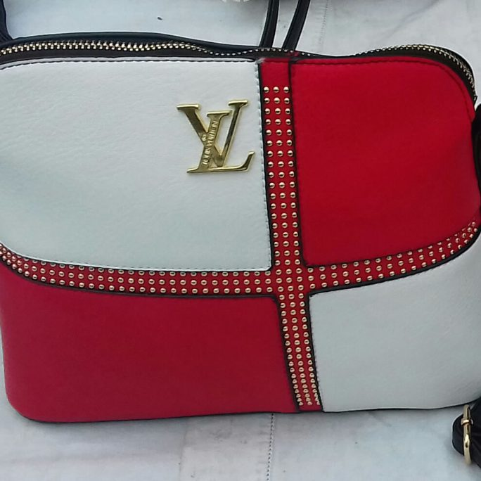 Louis Vuitton faux leather bag