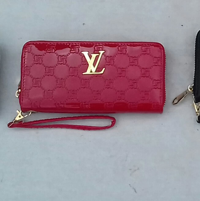 Louis Vuitton faux leather purse