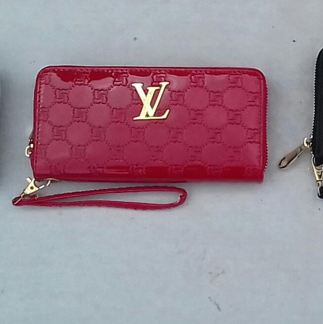 Louis Vuitton faux leather purse