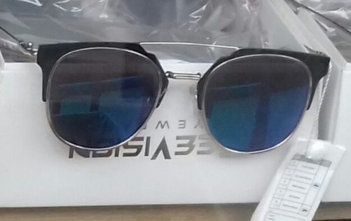 Sunglasses with Black Lenses Top